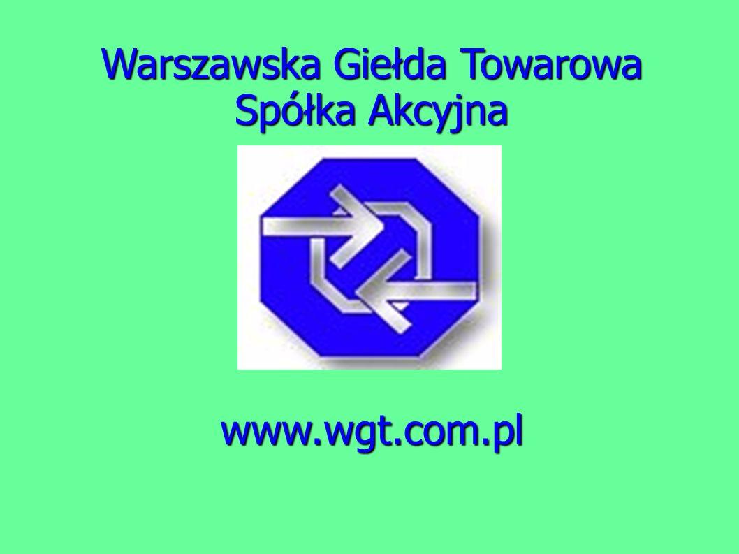 Warszawska Giełda Towarowa Spółka Akcyjna