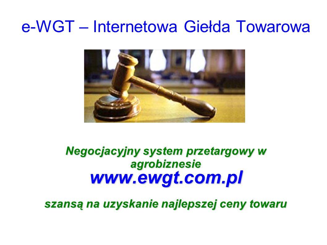 e-WGT – Internetowa Giełda Towarowa