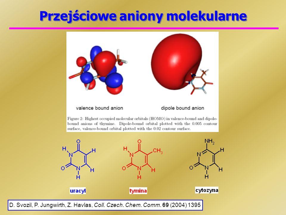 Przejściowe aniony molekularne