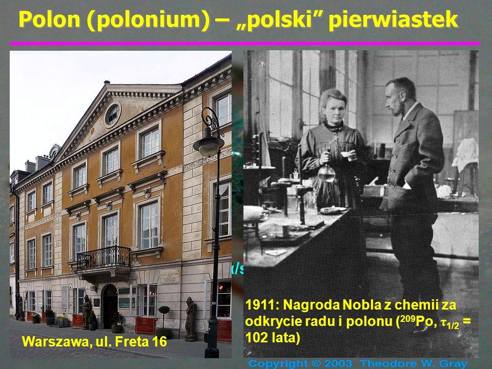 """Polon (polonium) – """"polski pierwiastek"""
