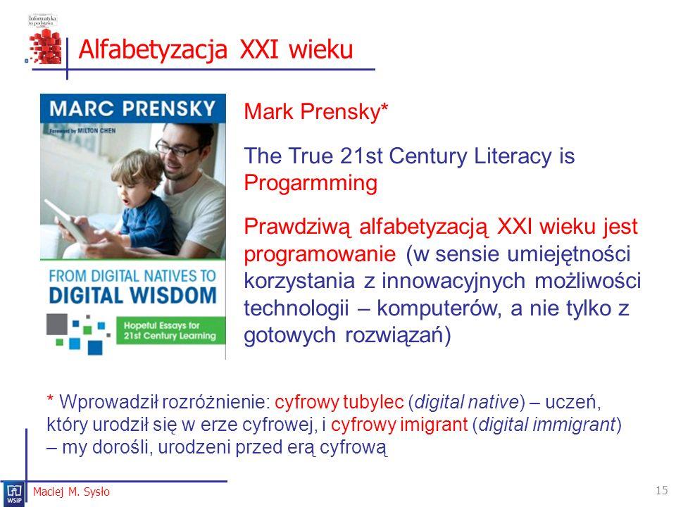 Alfabetyzacja XXI wieku