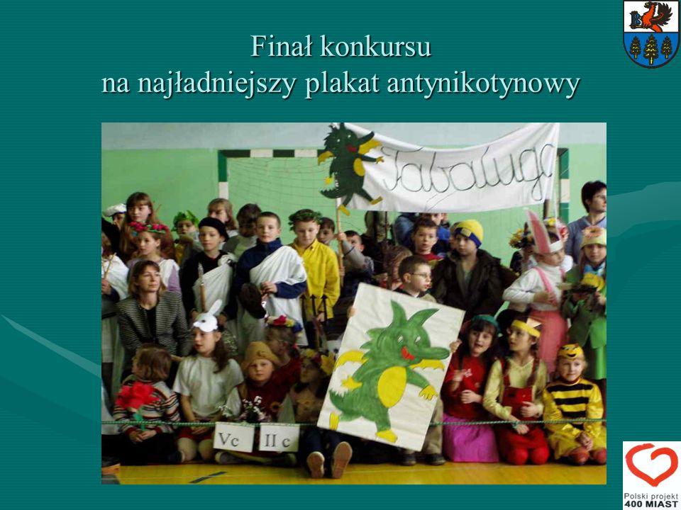 Finał konkursu na najładniejszy plakat antynikotynowy