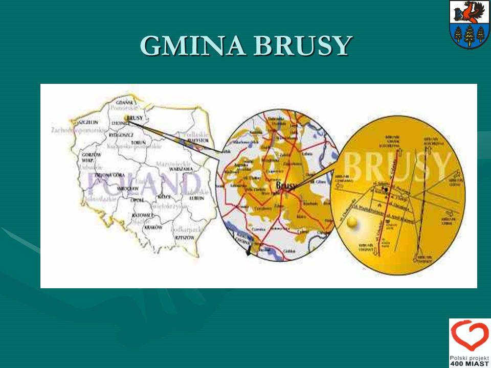 GMINA BRUSY