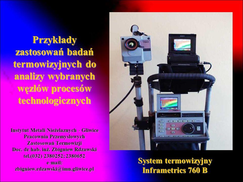 System termowizyjny Inframetrics 760 B