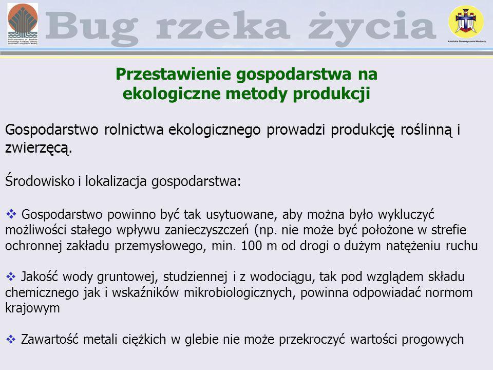 Przestawienie gospodarstwa na ekologiczne metody produkcji