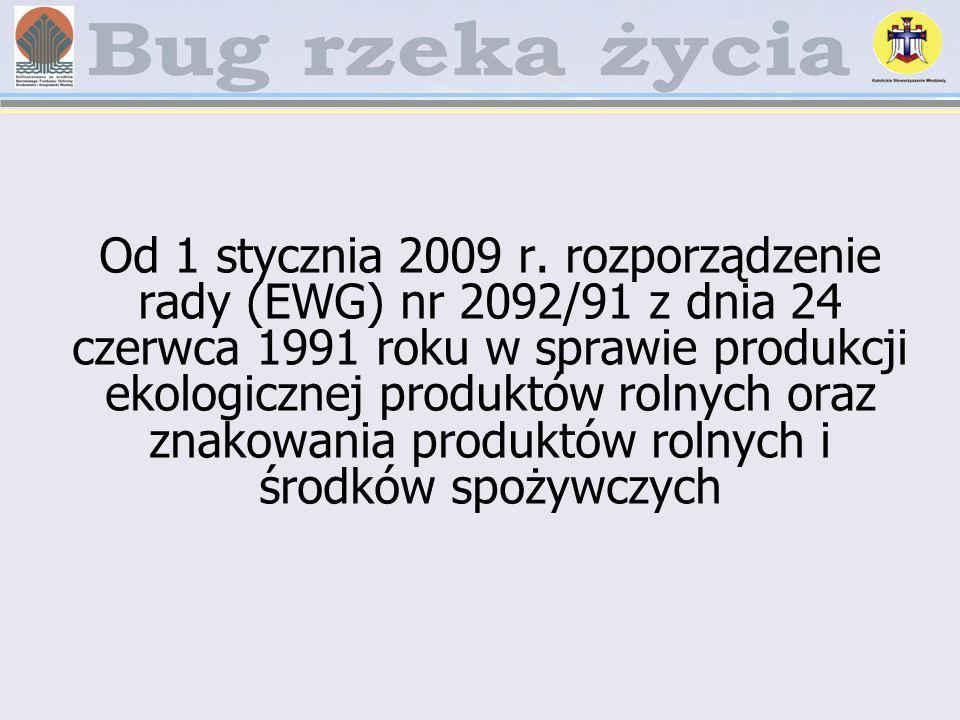 Od 1 stycznia 2009 r.