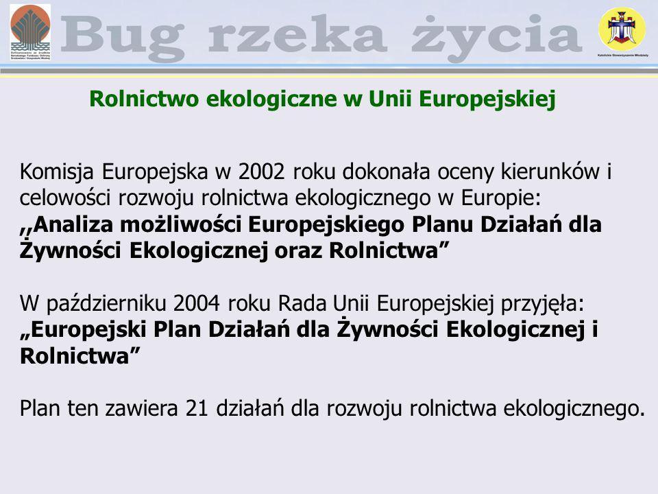Rolnictwo ekologiczne w Unii Europejskiej