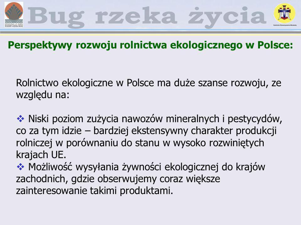 Perspektywy rozwoju rolnictwa ekologicznego w Polsce: