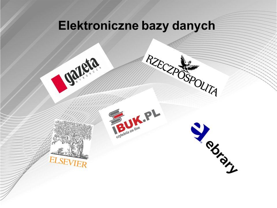 Elektroniczne bazy danych