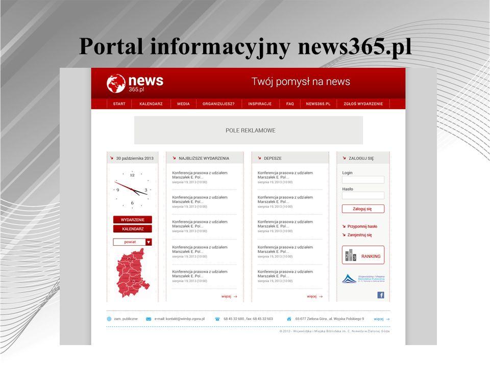 Portal informacyjny news365.pl