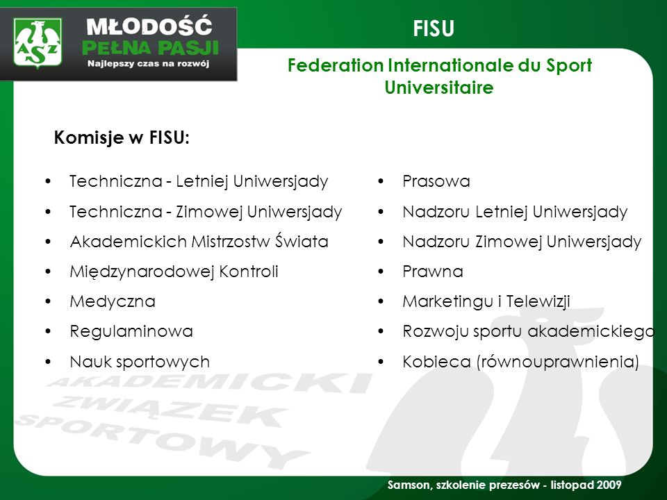 Federation Internationale du Sport Universitaire