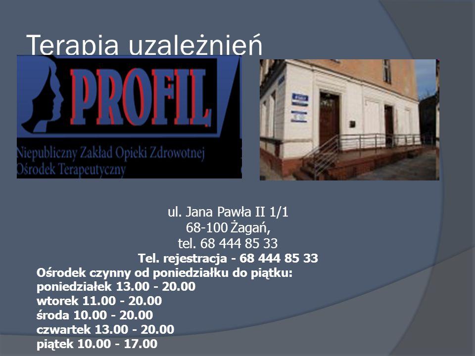 ul. Jana Pawła II 1/1 68-100 Żagań, tel. 68 444 85 33