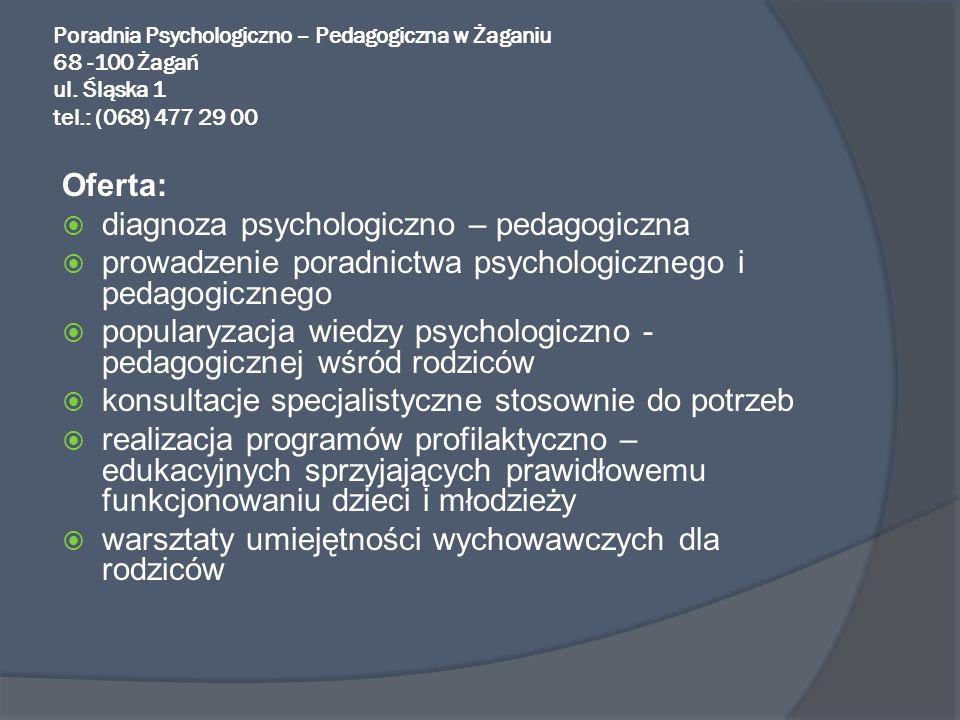 diagnoza psychologiczno – pedagogiczna