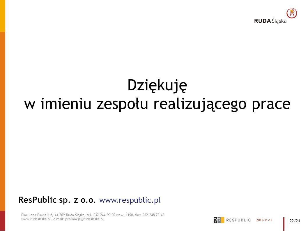 Plac Jana Pawła II 6, 41-709 Ruda Śląska, tel. 032 244 90 00 wew