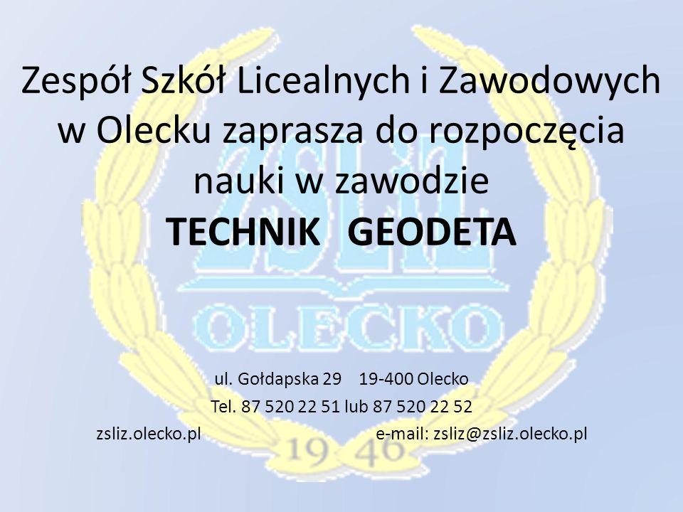 zsliz.olecko.pl e-mail: zsliz@zsliz.olecko.pl