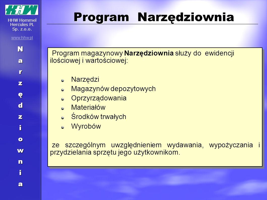 Program Narzędziownia