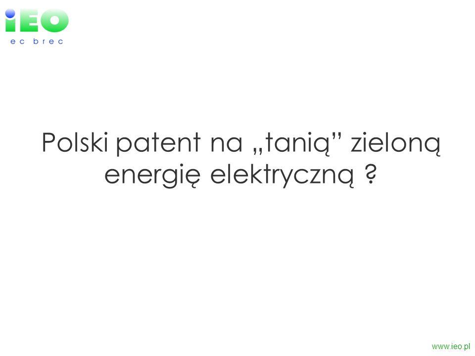 """Polski patent na """"tanią zieloną energię elektryczną"""