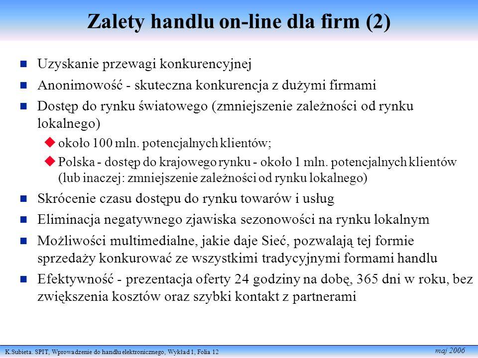 Zalety handlu on-line dla firm (2)
