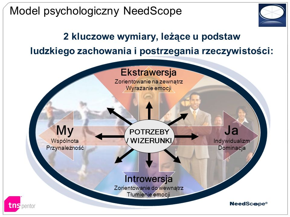 My Ja Model psychologiczny NeedScope