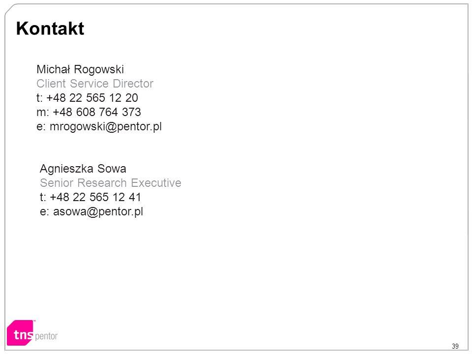 Kontakt Michał Rogowski Client Service Director t: +48 22 565 12 20