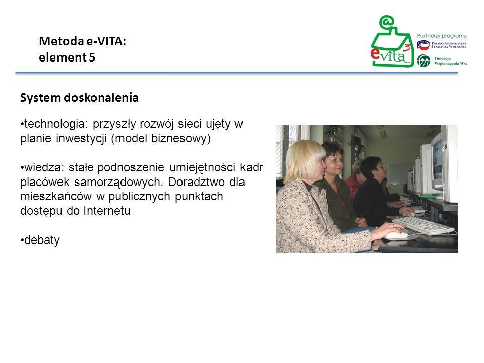 Metoda e-VITA: element 5 System doskonalenia