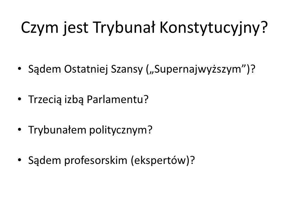 Czym jest Trybunał Konstytucyjny