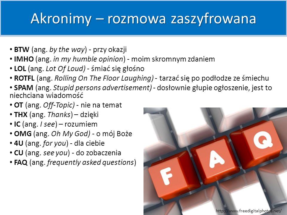 Akronimy – rozmowa zaszyfrowana