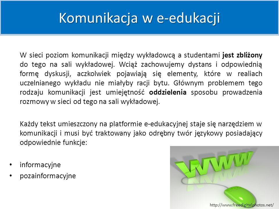 Komunikacja w e-edukacji