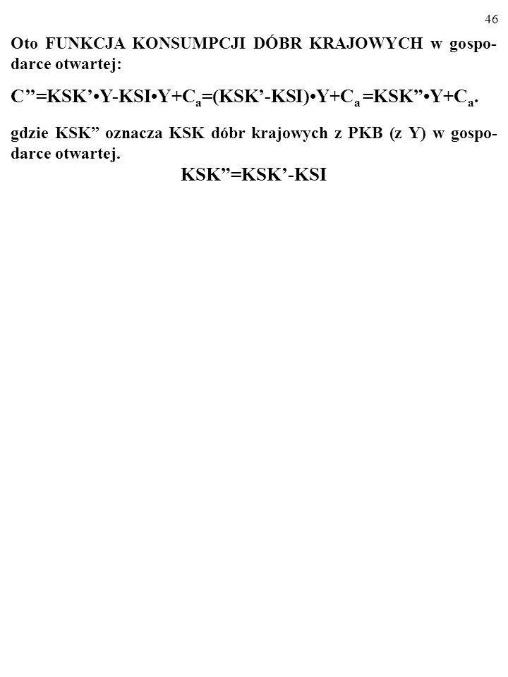 C''=KSK'•Y-KSI•Y+Ca=(KSK'-KSI)•Y+Ca =KSK •Y+Ca.