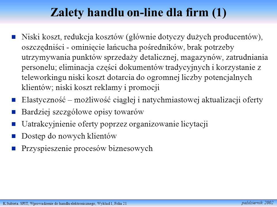 Zalety handlu on-line dla firm (1)