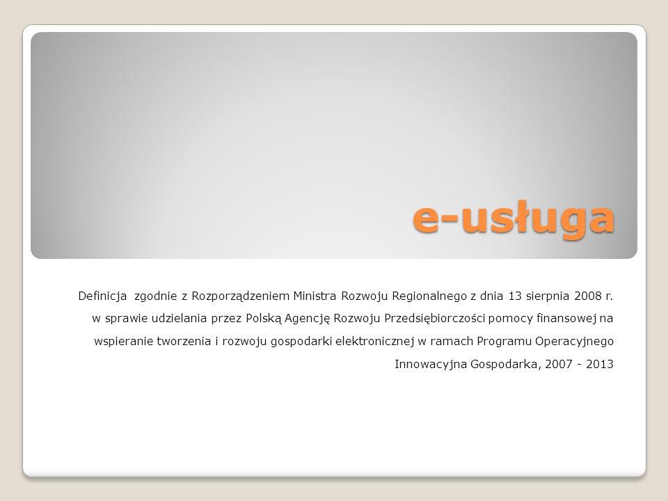 e-usługa