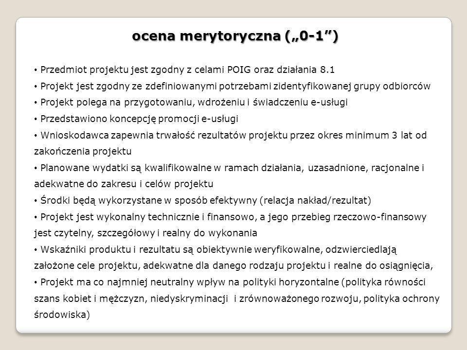 """ocena merytoryczna (""""0-1 )"""