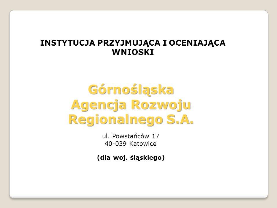 Górnośląska Agencja Rozwoju Regionalnego S.A.
