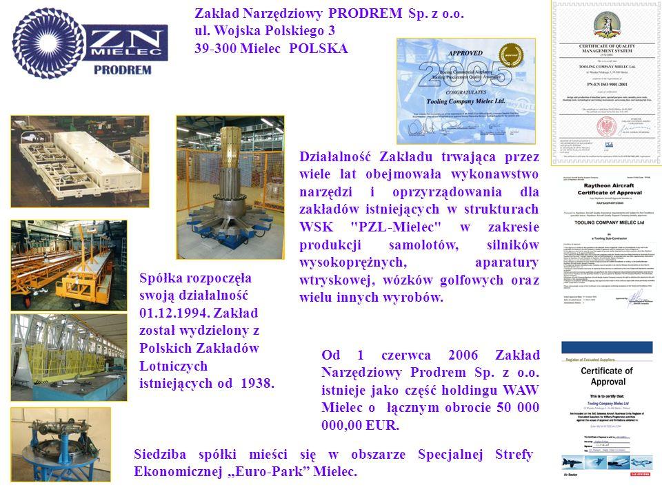 Zakład Narzędziowy PRODREM Sp. z o. o. ul