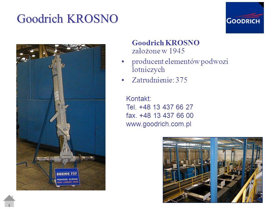 Goodrich KROSNO Goodrich KROSNO założone w 1945