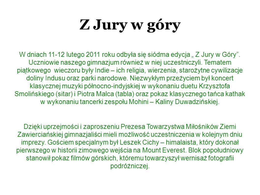 Z Jury w góry