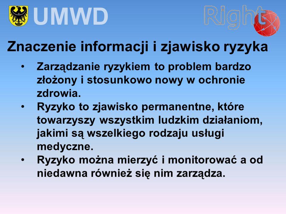 UMWD Znaczenie informacji i zjawisko ryzyka