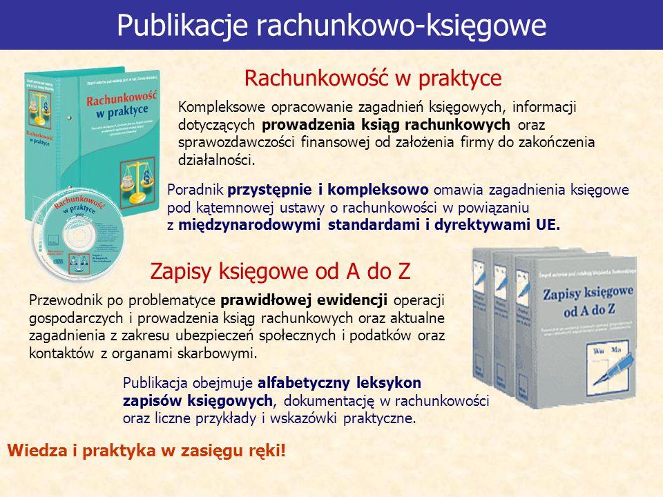 Publikacje rachunkowo-księgowe