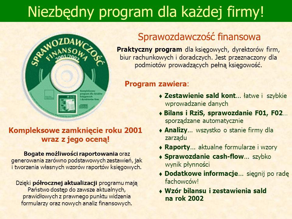 Niezbędny program dla każdej firmy!
