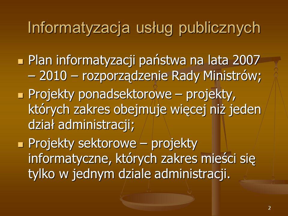 Informatyzacja usług publicznych