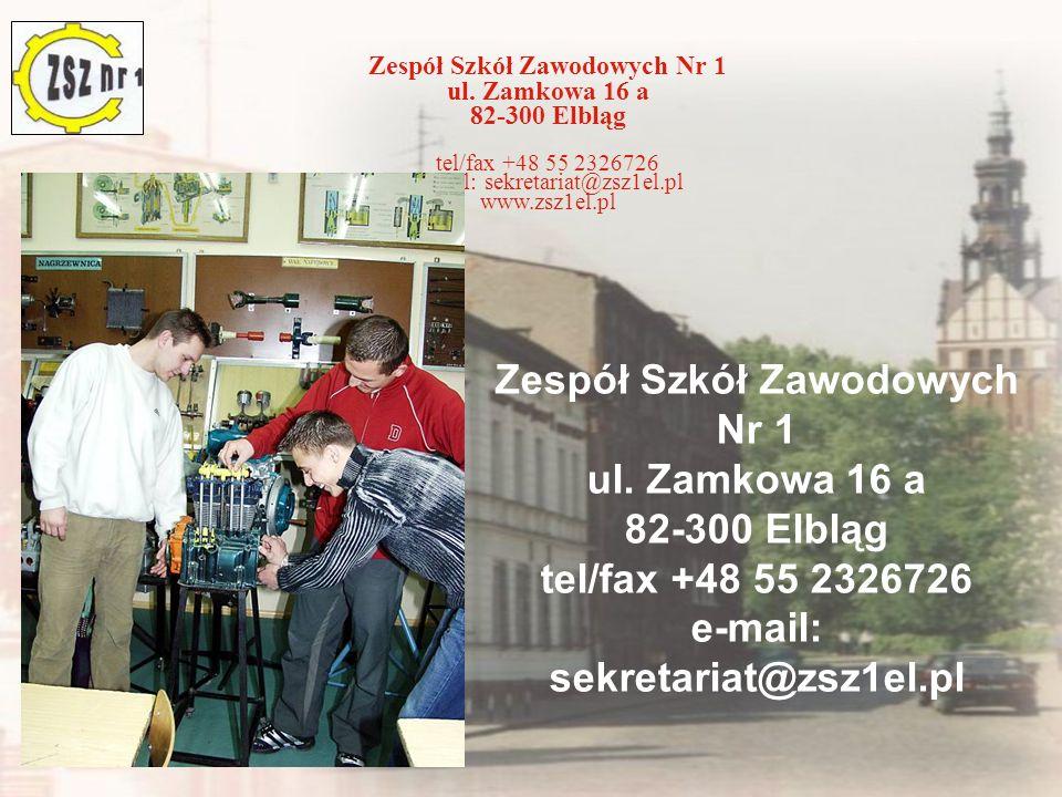 e-mail: sekretariat@zsz1el.pl