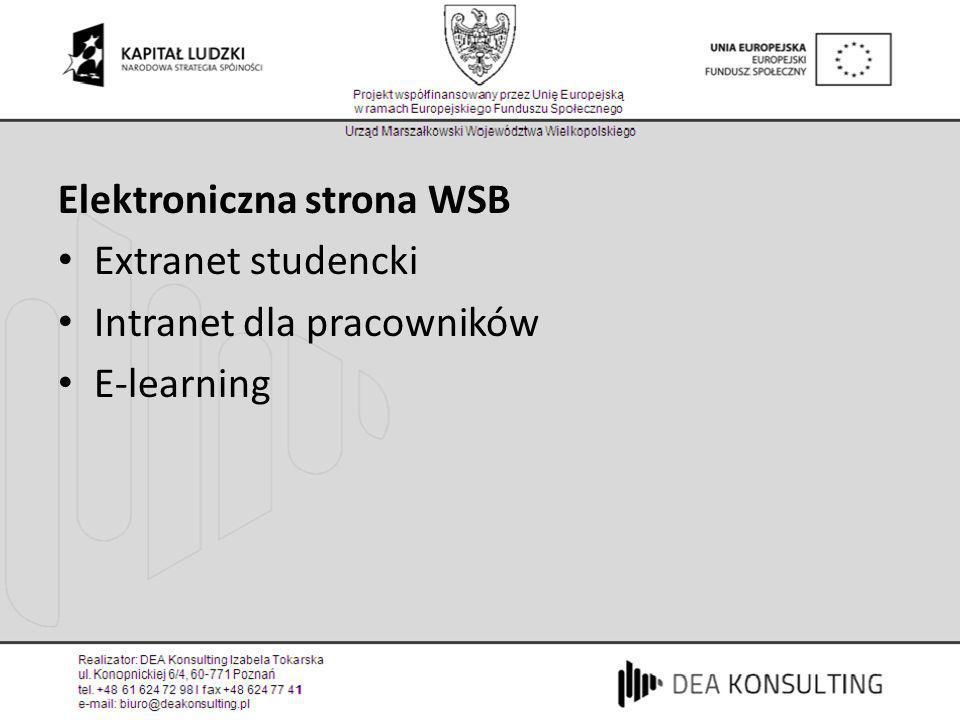 Elektroniczna strona WSB
