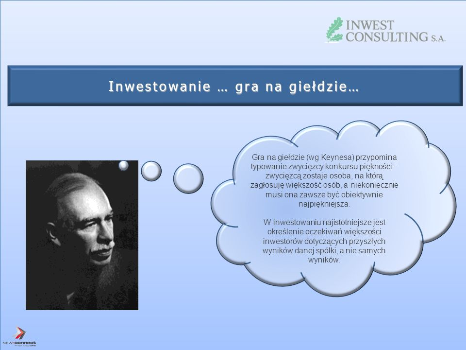Inwestowanie … gra na giełdzie…