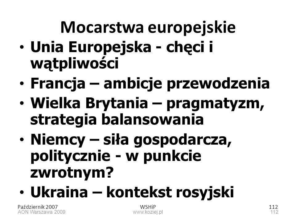 Mocarstwa europejskie