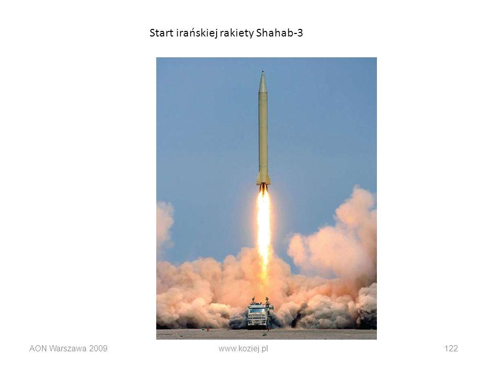 Start irańskiej rakiety Shahab-3
