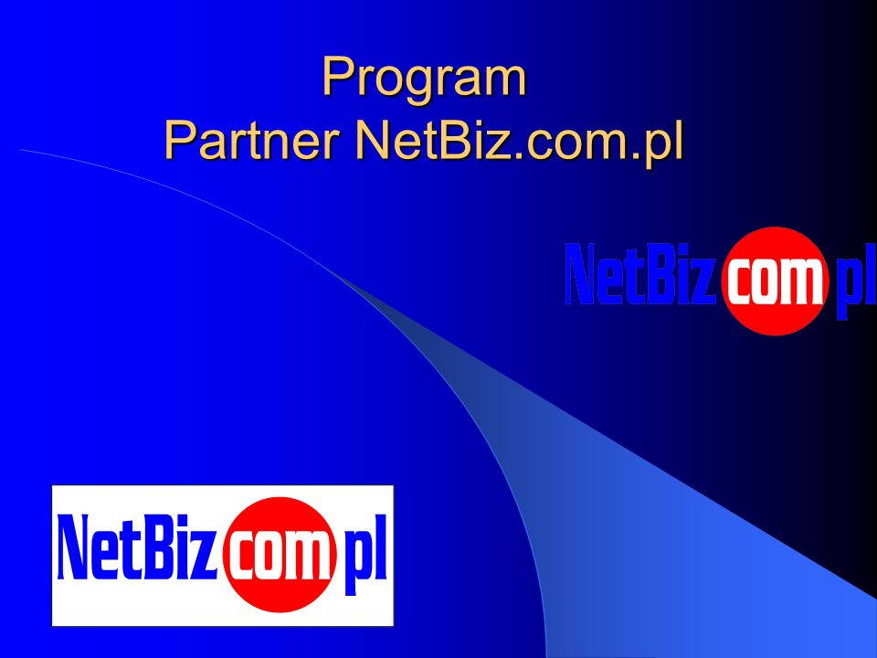 Program Partner NetBiz.com.pl