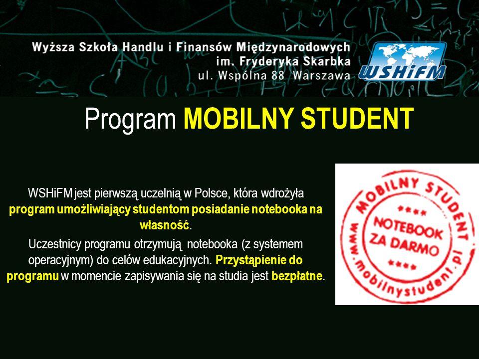 Program MOBILNY STUDENT