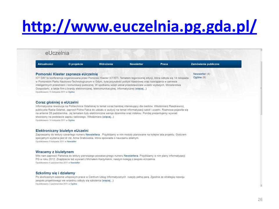 http://www.euczelnia.pg.gda.pl/