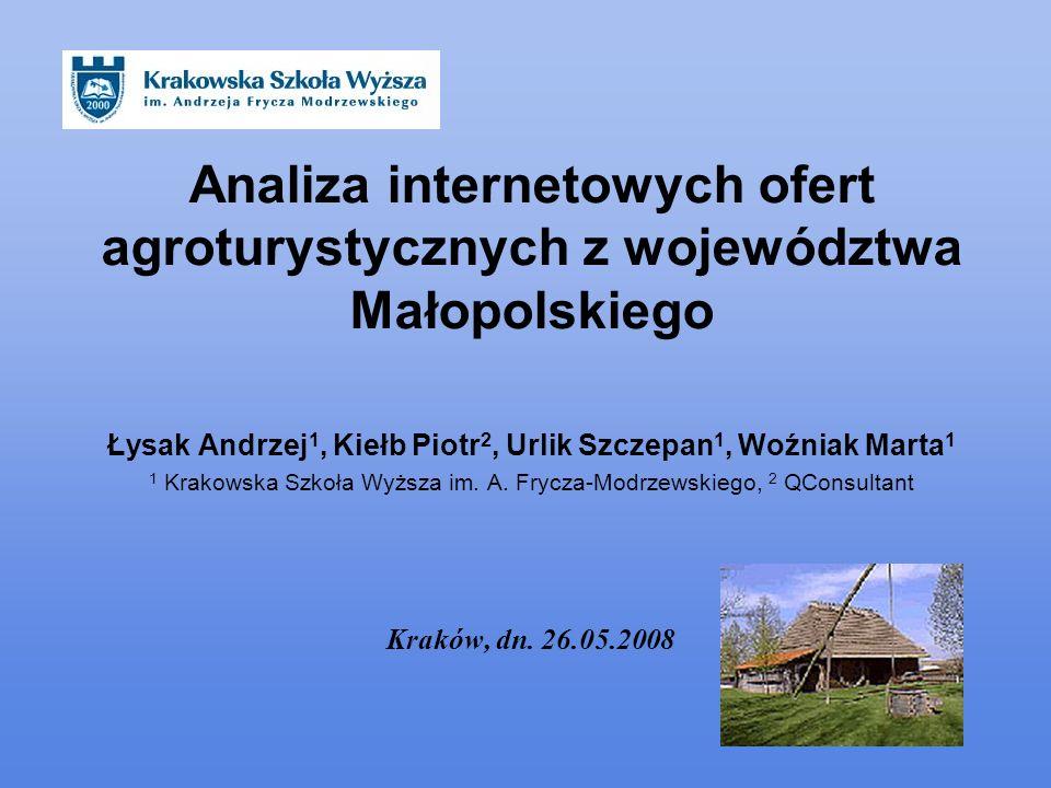 Łysak Andrzej1, Kiełb Piotr2, Urlik Szczepan1, Woźniak Marta1