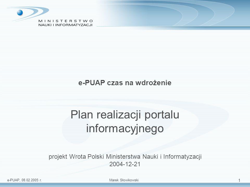 e-PUAP czas na wdrożenie